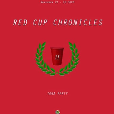 It's litt ?? #RedCupChroniclesII if you see me around ask for a free band. Happy Birthday @therealronwilson