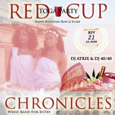 It's going down tonight! ???????? #RedCupChroniclesII #JustWannaParty #Royalty